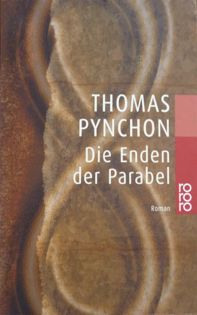 "Cover of the German translation of ""Gravity's Rainbow"""