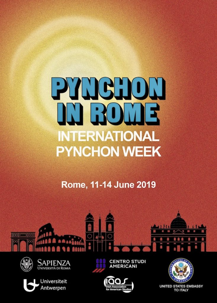 Pynchon in Rome - Poster for IPW 2019