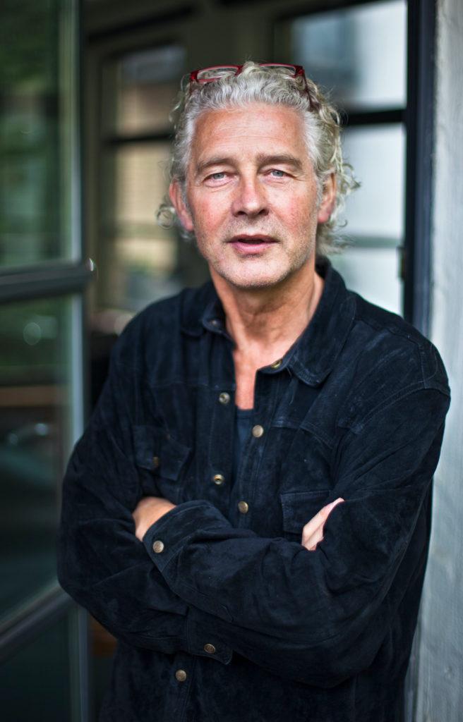 "Klaus Buhlert, Director of the radio play ""Die Enden der Parabel"""